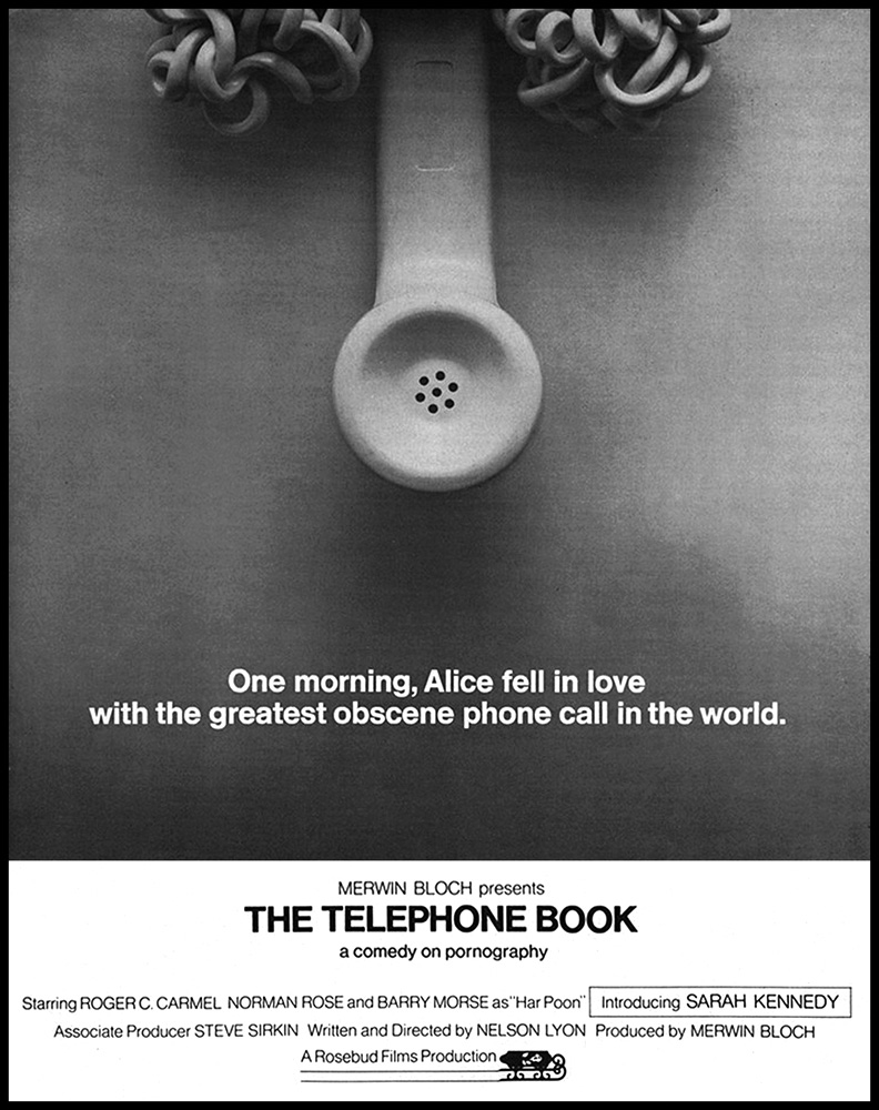 Sex is the phone book